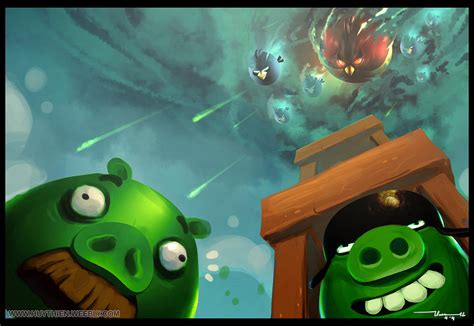 painting angry birds angry birds fan by thiennh2 on deviantart