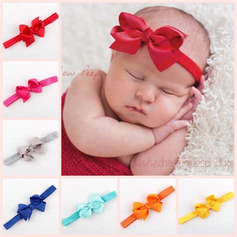 newborn baby headbands boutique hair bows turban headband tie baby bowknot hairband