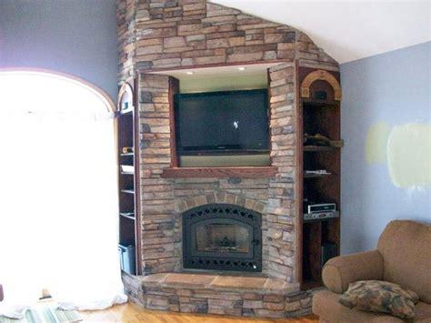 wood burning corner fireplaces multimedia