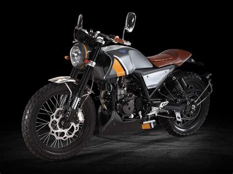 125er Motorrad Triumph by Fb Mondial Scrambler Hps 125 La Scrambler Mondial