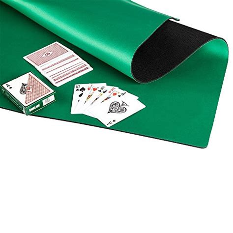 noise reduction rubber mahjong mat table cover card