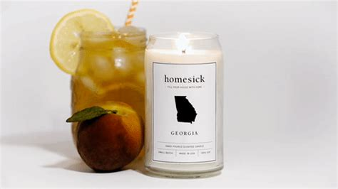 state candles homesick light a candle that smells just like your home