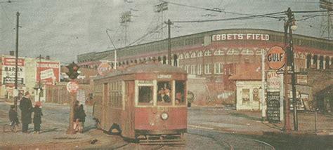 brooklyn trolley blogger ebbets field  anniversary