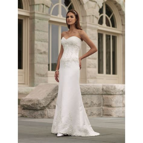 Wedding Dresses No by Strapless Wedding Dresses New Style Beaded Strapless No