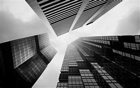 skyscraper wallpaper black and white download wallpapers skyscrapers black and white