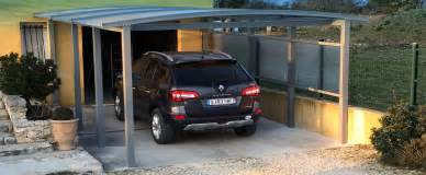 Double Car Port Carport Et Abri Pour 1 Voiture Azenco