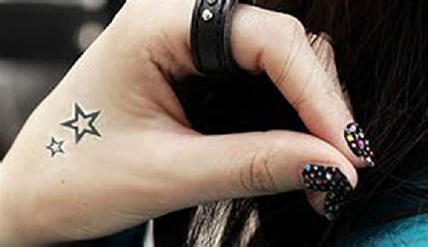 star tattoo on right hand meaning pictures of star tattoos on hand best tattoo 2017