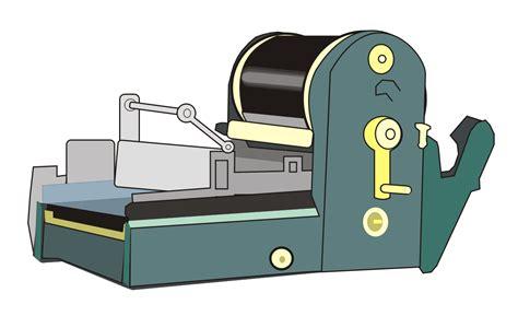 A Machine mimeograph