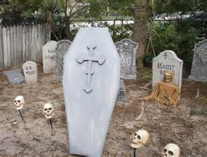 Gallery for gt homemade halloween yard decorations
