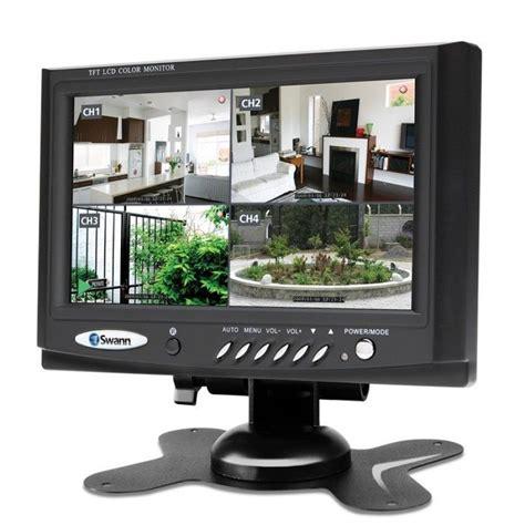 Monitor Lcd Untuk Cctv swann sw248lm7 vga 7 quot tft lcd monitor