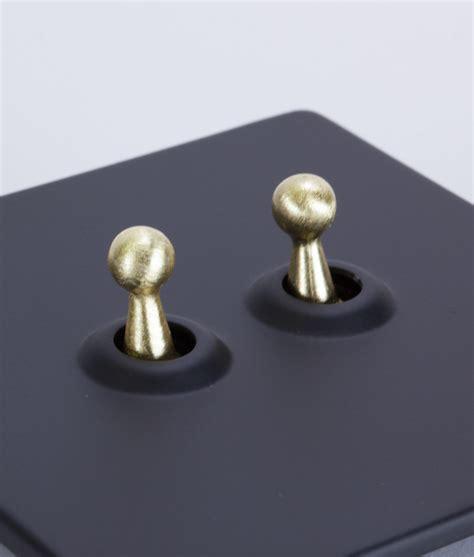 toggle light switch 2 toggle black amp gold designer switches