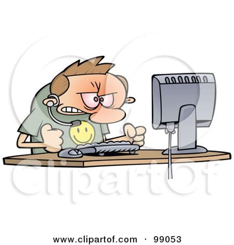 Banging On Desk by Featured Designs Stock Illustrations Clip Graphics