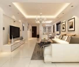 wohnzimmer decke beleuchtung abgeh 228 ngte decke mit indirekter beleuchtung als dekoration