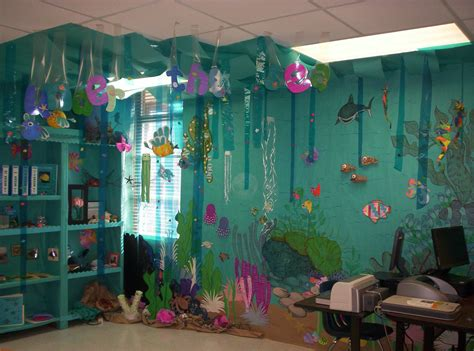 themes for class decoration the sea classroom theme classroom ideas