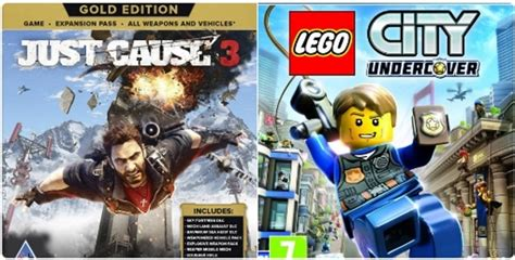 Kaset Ps4 Lego City Undercover news new lego city undercover ps4 xbox one just cause 3 gold edition ps4 xbox one