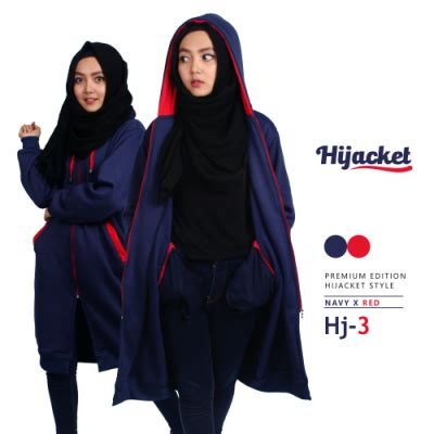Jaket Hijabers Hijacket Hj 20 jual jaket wanita murah bandung jaket muslimah hijabers