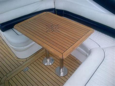 nautic star boat tables nautic star slide teak boat table marine teak