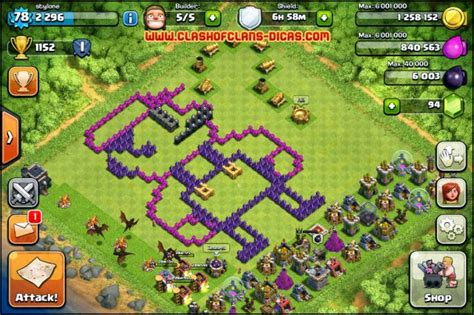 layout morcego cv 6 lamento da vi 250 va dicas clash of clans agosto 2014