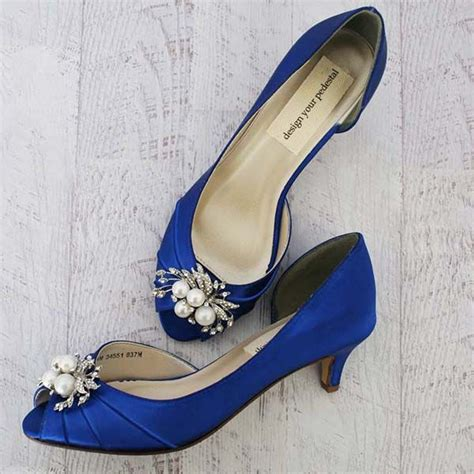 Blue Wedding Shoes For by Best 25 Blue Wedding Heels Ideas On Colorful