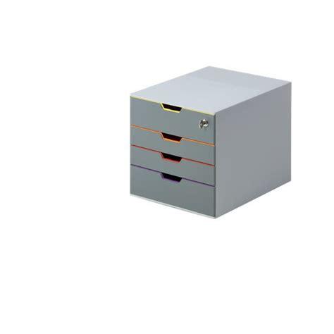 cassettiere da scrivania cassettiere da scrivania varicolor durable con serratura