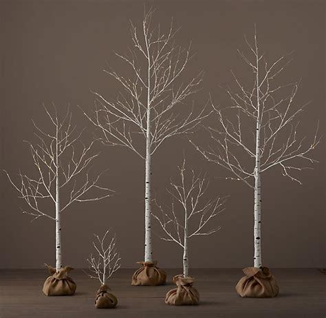 lighted trees home decor holiday decorating crystal hills organics