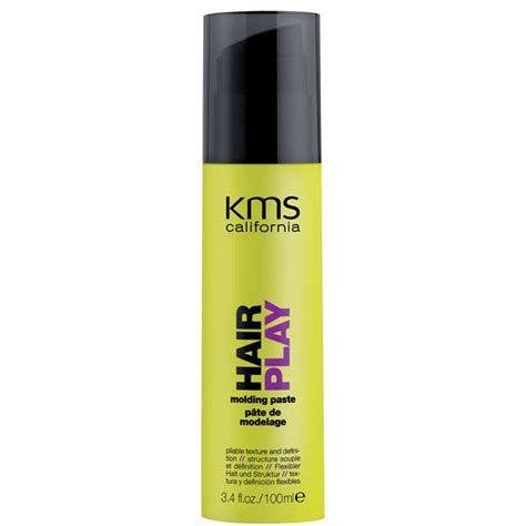 hairplay by color kms california hairplay molding paste 100ml free uk delivery
