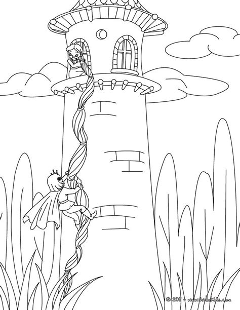 coloring pages of fairy tales grimm fairy tales coloring pages rapunzel grimm tale