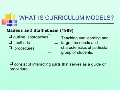 what is a cv curriculum models and types