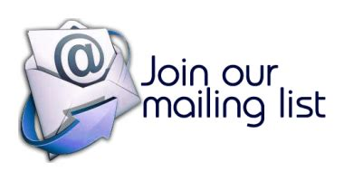 join our mailing list template on sports foundation