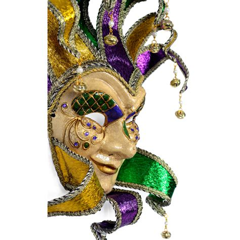 what are mardi gras made of mischievous jester mardi gras mask 37581