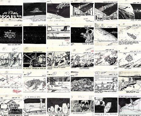 star wars storyboards 1419707728 star wars storyboard scrumptious sketching