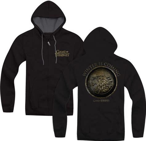 Jaket Hoodie Zipper Winter Is Coming Of Thrones Of Thrones Winter Is Coming Zip Up Hoodie