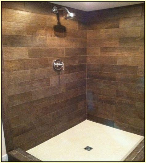 faux wood tile bathroom ideas 1000 ideas about wood