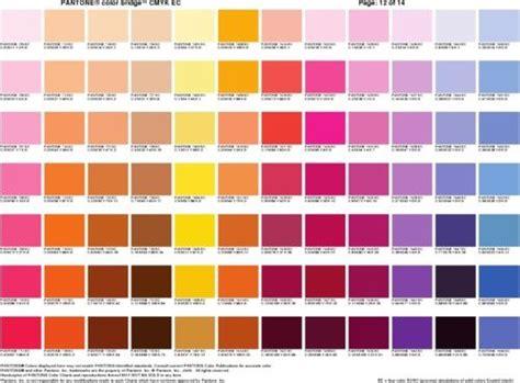 color reference pantone colour bridge cmyk sheets 6 color