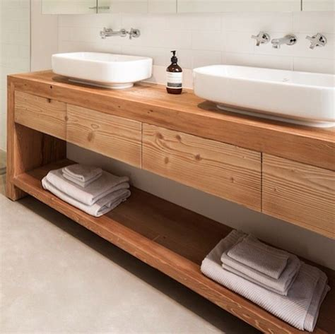 Timber Bathroom Vanity Pin By Conway On Bathroom