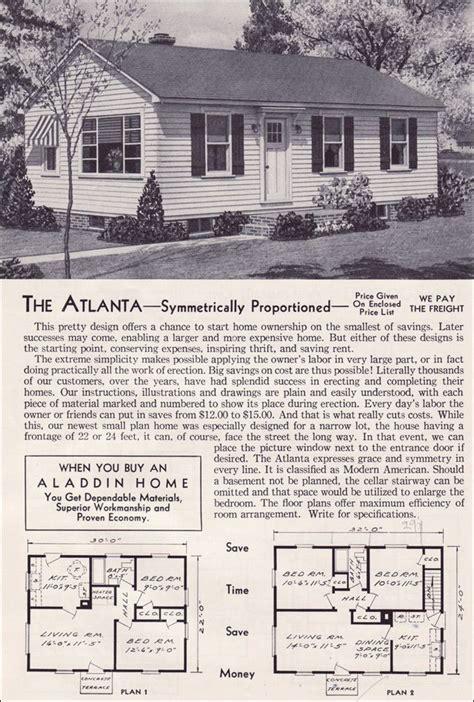 1940 aladdin kit homes the rockport old but soo cute 1951 aladdin kit houses the atlanta mid century modern
