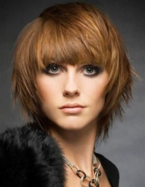 how to air dry a texturized bob choppy layered bob with full bangs this choppy layered