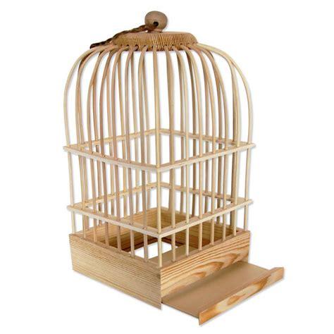 Decorer Une Cage A Oiseau by Support 224 D 233 Corer En Bois Cage 224 Oiseau 32 X 16 5 X 16