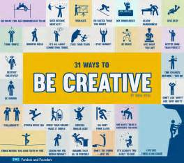 31 ways to be creative infographic best infographics