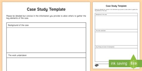 case study template young people amp families case file