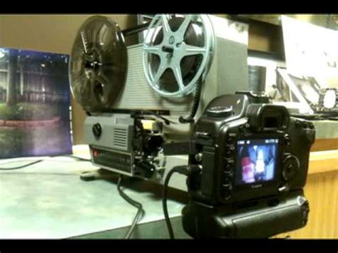 4k super 8mm scanner in action youtube