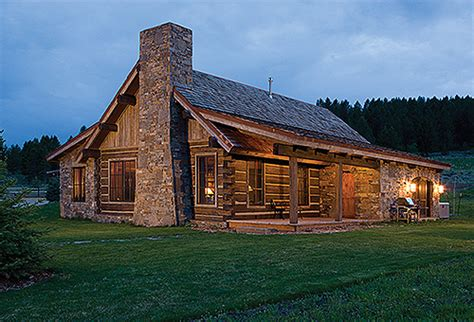 montana home log architecture and building photos