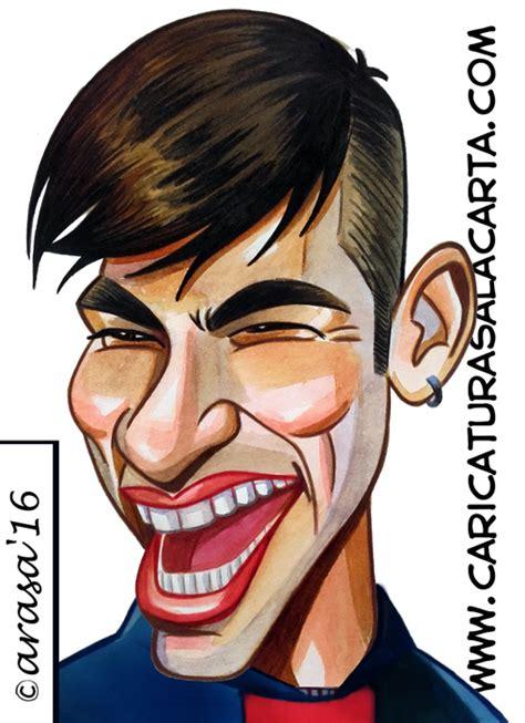 imagenes hipster en caricatura caricaturas del cl 225 sico de famosos futbolistas messi