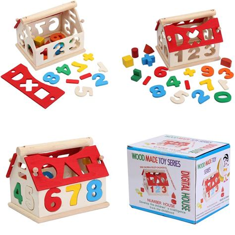 Tiny Town Wooden Block Educational 50 Pcs Puzzles W Moving Cars other educational toys wooden block puzzle educational math study with gift