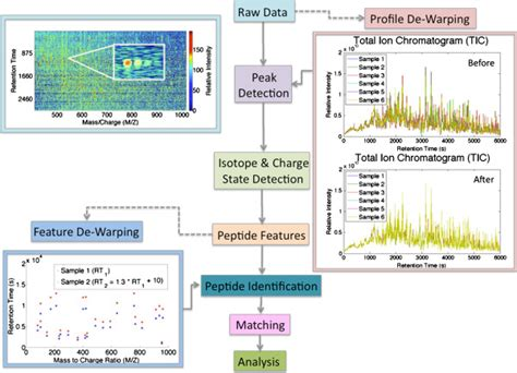 Processing Label Free Proteomics Data Raw Data Contains Image Processing Ppt Slides Free