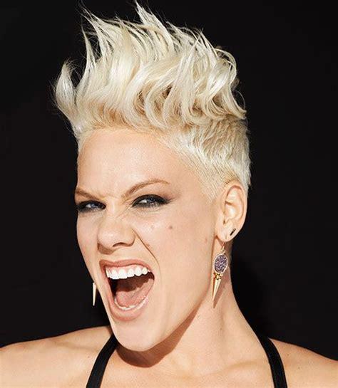 carey hart hair pink singer hair mohawk p nk hair mohawk photos hair