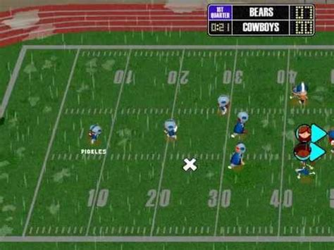 Backyard Football 2002 by Backyard Football 2002 Season Playthrough Divisional