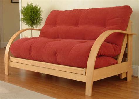 brick futon prague compact 2 seater futon sofa bed