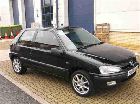 Peugeot 106 1 1 Independence Peugeot 2003 03 106 1 1 Independence Black Car For Sale