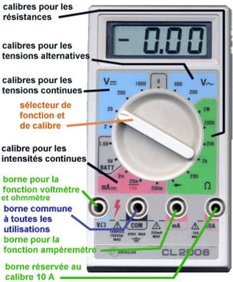 Comment Utiliser Un Multimetre 5199 by Multim 232 Tre